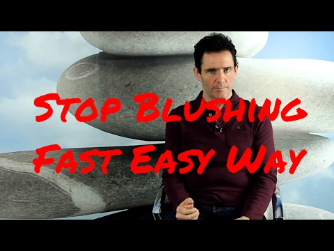 Stop Blushing Fast in 2 minutes