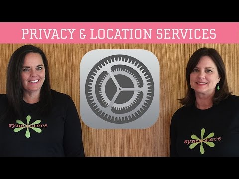 iPhone / iPad Privacy & Location Services