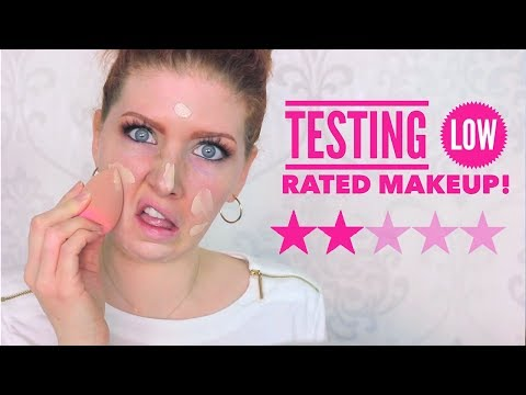 Full Face Testing WORST Rated Makeup | from ULTA
