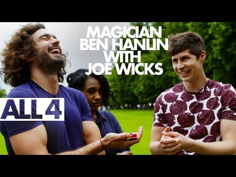 Magician Ben Hanlin Trades Card Trick Secrets For A Workout With Joe Wicks!