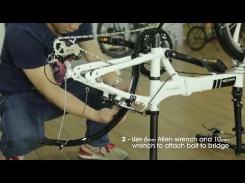 How to Attach Fenders/Mudguards to your DAHON Folding Bike