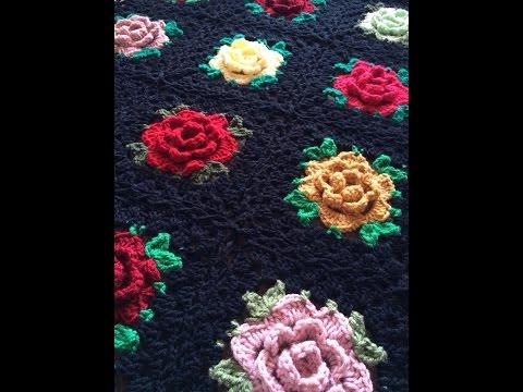 Lacy Flower Granny Square Crochet Tutorial Crochet Flower