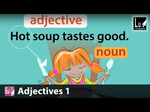 Adjectives 1 Song – Learn Grammar – Learning Upgrade App