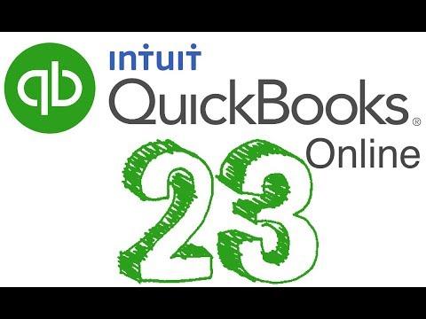 23. Quickbooks Online - INVENTORY (Reorder Point)   2018
