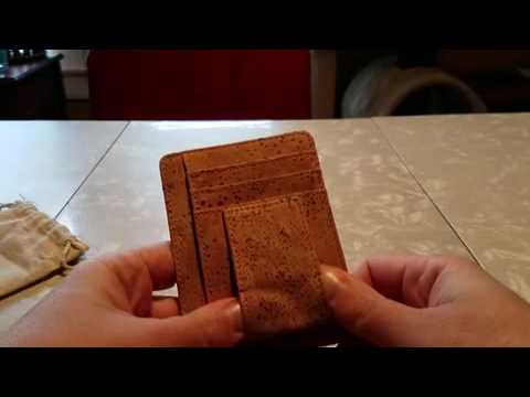 Boshiho Leather Alternative Eco-friendly Cork Wallet Review