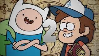 Finn the Human vs Dipper Pines 2. Epic Rap Battles of Cartoons Season 3.