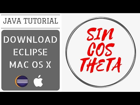 How to Download and install Eclipse in Mac OS X - Java Tutorial 2