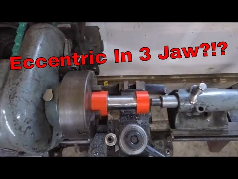 NEW Way to Eccentric Turn in a 3 Jaw: Machining a Fly Cutter