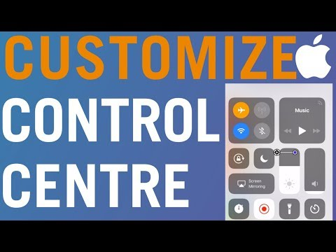 How to Customize Control Center on iPhone 2018! [No Jailbreak]