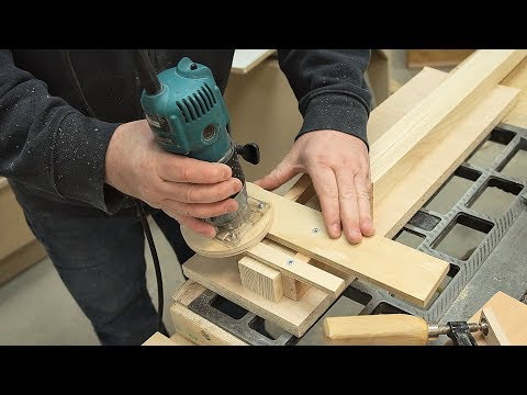 Saw Tooth Notch Cutting Jig For My Bar Clamps