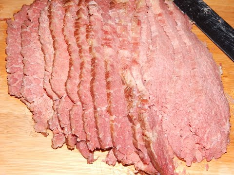 Easy Homemade Corned Beef - Home Cured Corned Beef