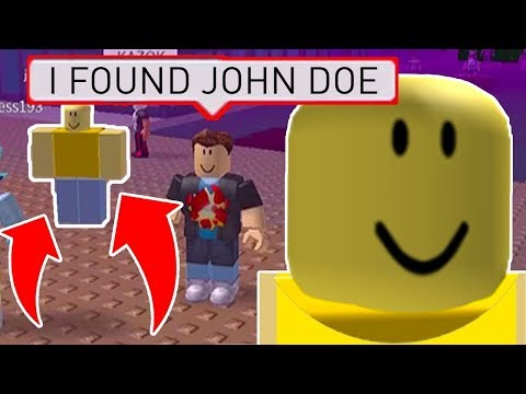 FINDING JOHN DOE on MARCH 18TH in Roblox! - ALL JOHN DOE LOCATIONS