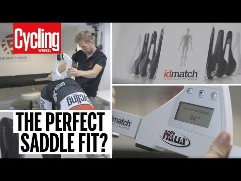Can this system pick the best saddle for you? | Cycling Weekly