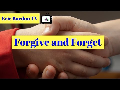 Forgive and Forget- Positive Affirmation