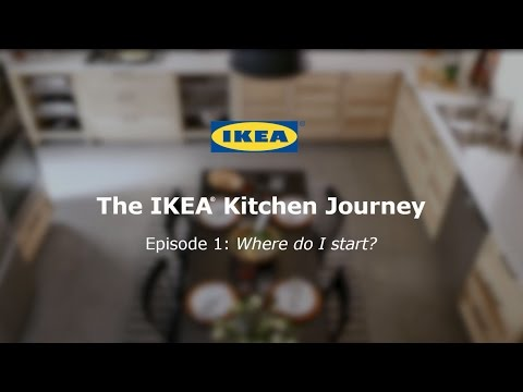 Plan a Kitchen - IKEA Kitchen Video Series (1 of 4)