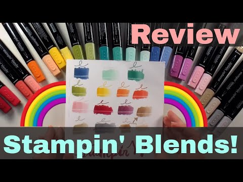 NEW Stampin Blends Marker Review!
