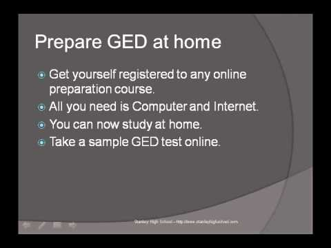 Get your GED Online