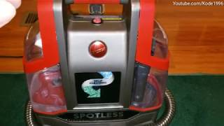 Hoover portable spot cleaner