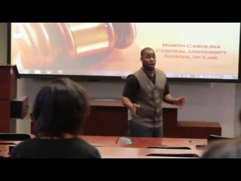 K-Hill Speaks W/ NCCU Law Students about Music Sampling.