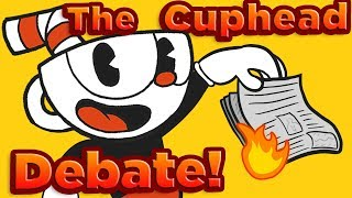 The Cuphead CONTROVERSY: Should Reviewers Git Gud? - DeadLock (ft. Mother's Basement)
