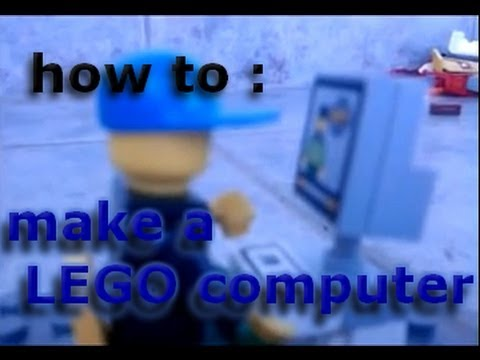 How to build a LEGO computer and phone