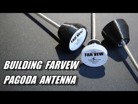 Building Far Vew Pagoda Antenna Kit