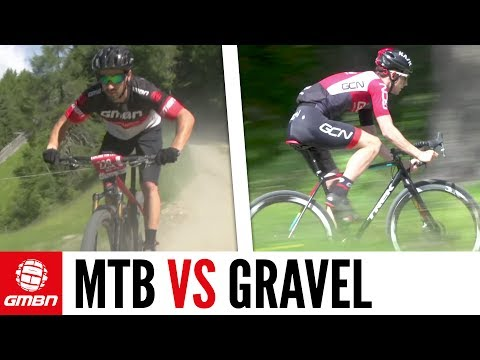 Mountain Bike Vs Gravel Bike – Which Is Faster? GMBN Vs GCN