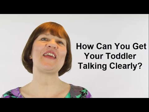 How Can You Get Your Toddler Talking Clearly? (Raising Toddlers #14)