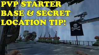 ARK: Survival Evolved   Starter PVP Base Design U0026 Hidden Location!  (TheCenter)
