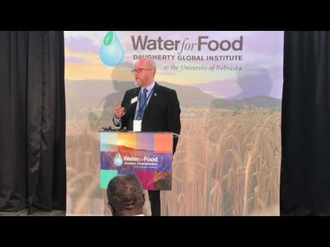 #Water4Food Global Conference Presser