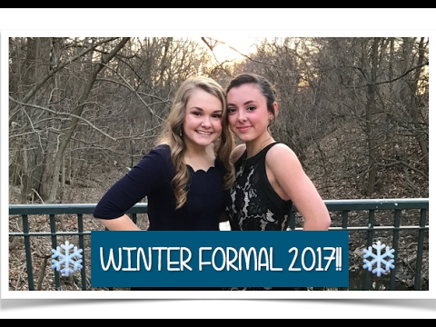 COME ALONG W/ US TO WINTER FORMAL!!❄️👠  |Jaycie and Abbie|