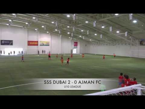 SSS Dubai VS Ajman FC  U10 Football Academies Championship