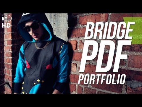 Creating a PDF portfolio with adobe bridge