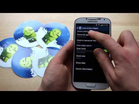 Three ways to add camera shortcuts to the Galaxy S4 lock screen
