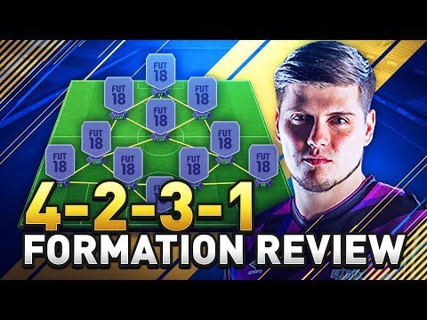 BEST FORMATION IN FIFA 18 TUTORIAL! THE 4231 GUIDE IN ULTIMATE TEAM! (FUT 18)