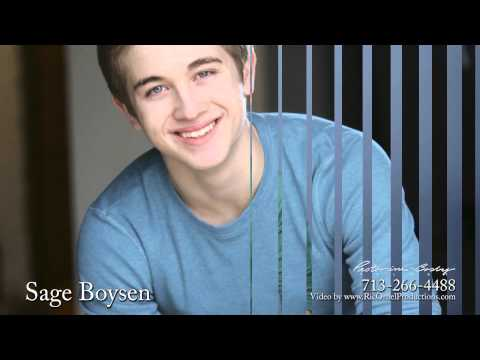 Sage Boysen is represented by Texas top talent agency   YouTube
