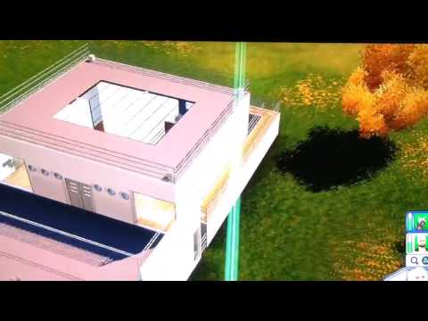 Sims 3 pets PS3 my modern creations homes basements Studio different size walls mods hacks cheats