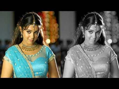 Change colour photo into Black and White in Photoshop ( in Tamil with  ESubs )