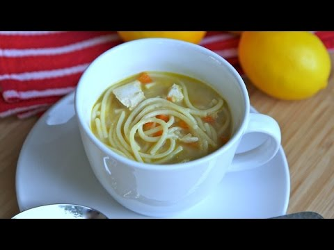 How to Make Chicken Noodle Soup - Homemade Soup Recipe
