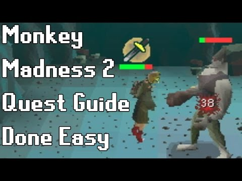 Monkey Madness 2 Quest Guide Done Easy - Framed
