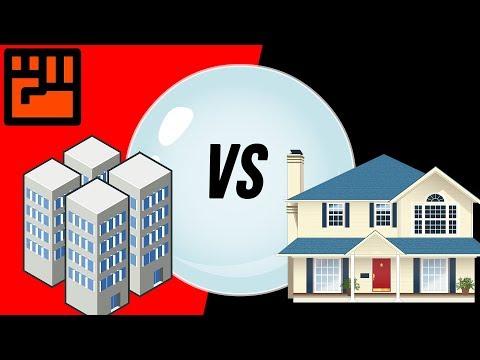 Condo vs Detached Real Estate Bubble - Which Is Worse?