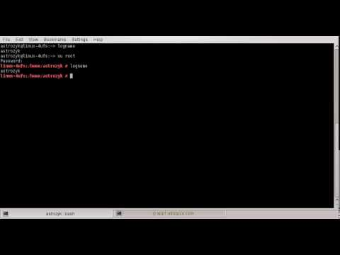 Linux Commands Series: logname, id, groups