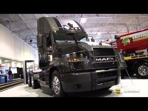 2018 Mack Anthem 64T Daycab MP8 445C Truck - Exterior and Interior Walkaround - 2018 Truckworld