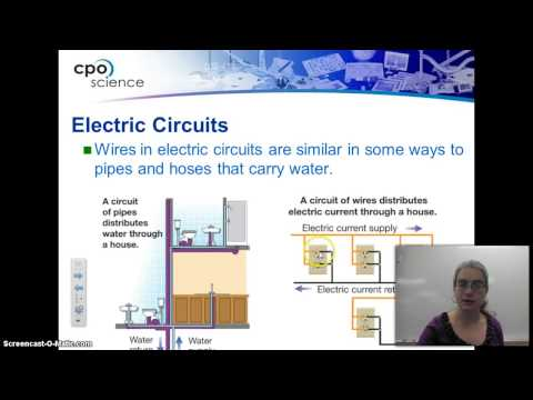 Electricity-Open and Closed circuits and Circuit diagrams