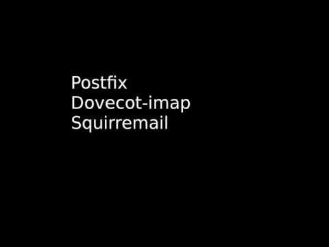 Postfix Dovecot Squirrelmail Ubuntu 14.04 LTS