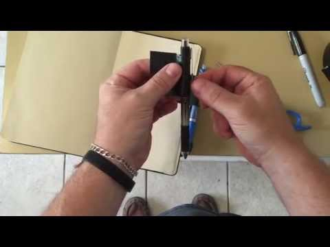 How To: A Better Penholder For Your Notebook