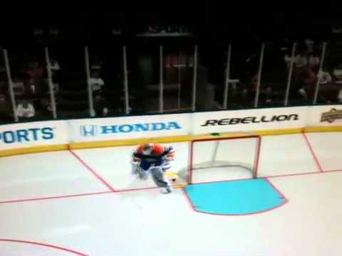 Hilarious Online OT win NHL 11