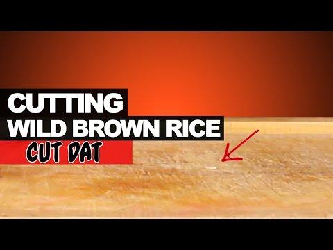 Cutting Wild Brown Rice