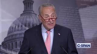 Senator Minority Leader Chuck Schumer calls Senate a legislative graveyard