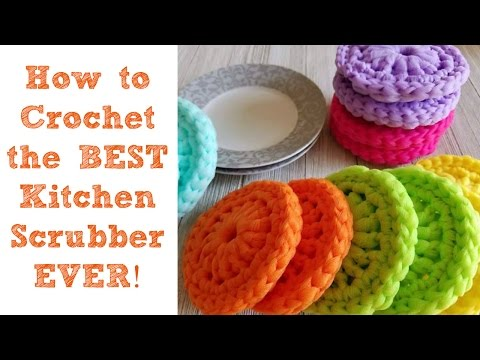 How to Crochet the BEST Kitchen Scrubber Ever!